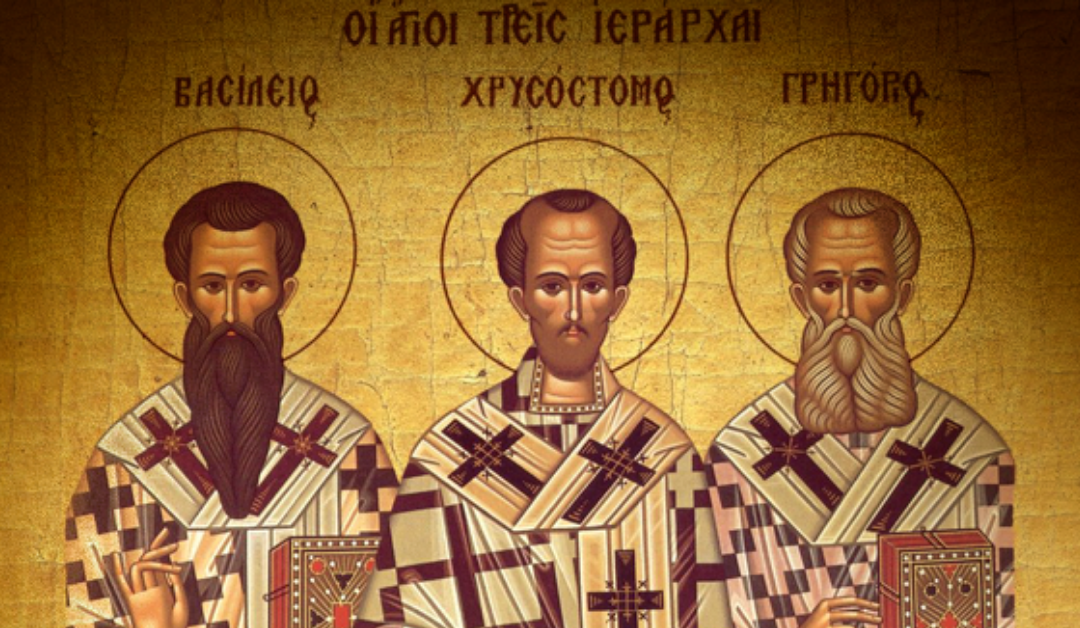 The Three Holy Hierarchs & the Trivium